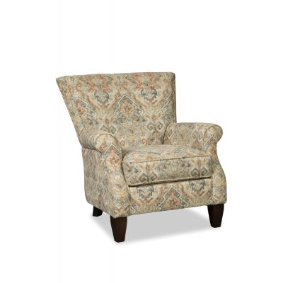 Kavalas Flared Back Accent Chair