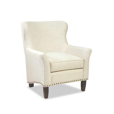 Colebrook Modern White Chair