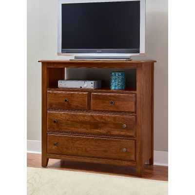 Artisan & Post Amish Cherry Loft Media Chest
