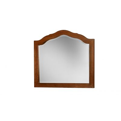 Artisan & Post Amish Cherry Villa Arched Dresser Mirror