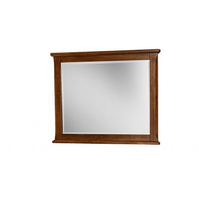 Artisan & Post Amish Cherry Villa Landscape Dresser Mirror