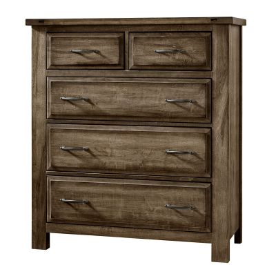 Artisan & Post Maple Road Five Drawer Chest in Maple Syrup