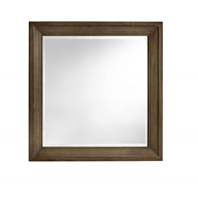 Artisan & Post Maple Road Landscape Mirror with Beveled Glass in Maple Syrup