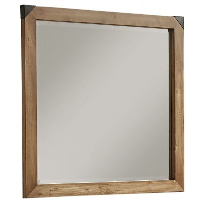 Artisan & Post Sedgwick Landscape Mirror with Beveled Glass in Natural Maple
