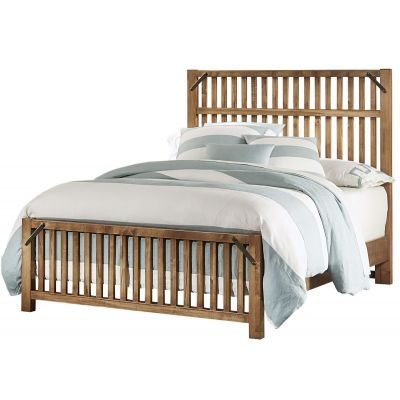 Artisan & Post Sedgwick Elevator Slat Queen Bed in Natural Maple