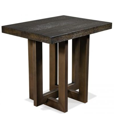 Riverside Magnus Umber Side Table
