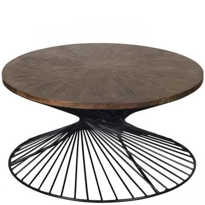 Riverside Kingston Nomad Round  Coffee Table