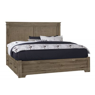 Cool Rustic Mansion Bed with storage on left or Right Side