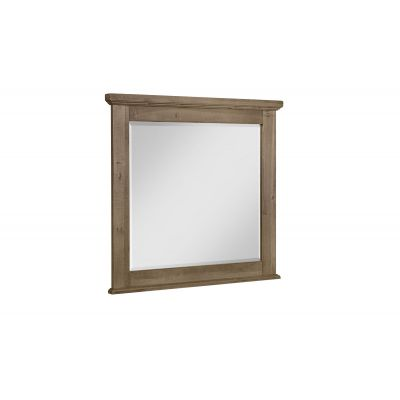 Artisan & Post Cool Rustic Landscape Beveled Glass Dresser Mirror in Natural