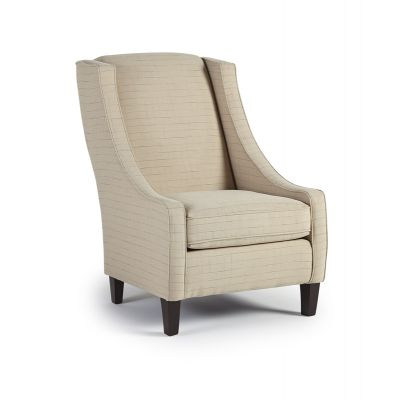 Janice Wing Back Accent Chair Oakland