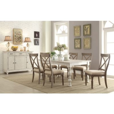 Aberdeen Rectangular 5 Pcs Dining Room Set Fair Lawn