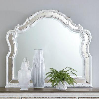 Liberty Furniture Magnolia Manor Scalloped Dresser Mirror
