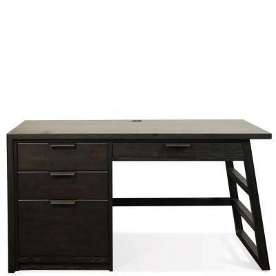 Perspectives Single Pedestal Desk