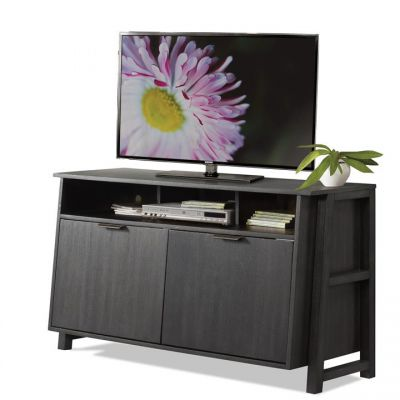 Perspectives Ebonized Acacia Entertainment Console