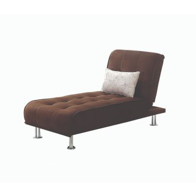 Ellwood Upholstered Chaise Sofa Brown Englewood Cliffs