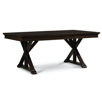Legacy Classic Thatcher Amber Trestle Table