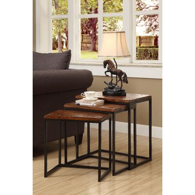 39677 Set of 3 Nesting Tables  Wyckoff