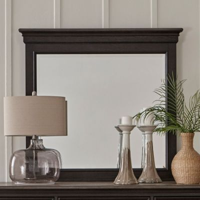 Liberty Allyson Park Crown Dresser Mirror in brown