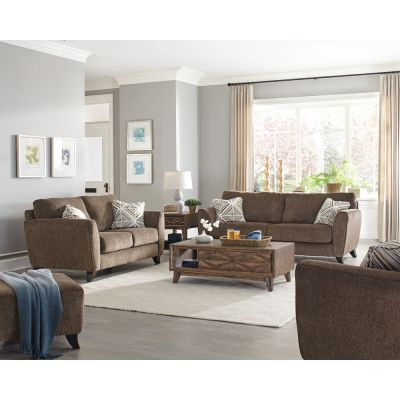 Jackson Alyssa Living Room Set in Latte