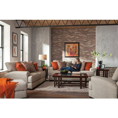 Jackson Ava Living Room Set in Cashew