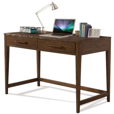 Vogue Brown Oak Writing Desk