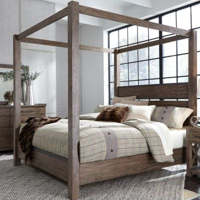 Liberty Furniture Sonoma Road Canopy Bed