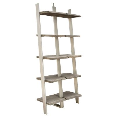 Waverly Sandblasted Wall Standing Bookcase