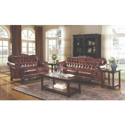 Victoria Rolled Arm Living Room Set Park Ridge