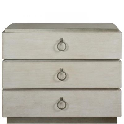 Riverside Maisie Bachelor Chest in Champagne