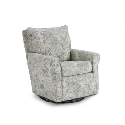 Kacey Swivel Rocker Accent Chair Emerson
