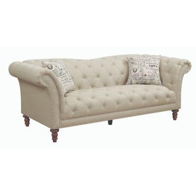 Josephine Tufted Upholstered Sofa Oatmeal Ramsey