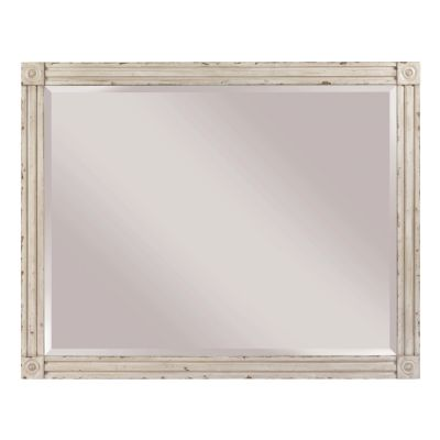 American Drew Southbury Light Brown Landscape Mirror