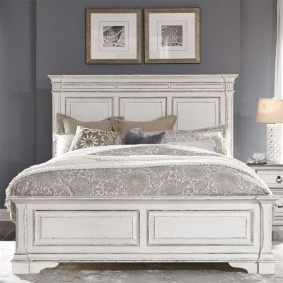 Liberty Abbey Park Antique white Panel Bed