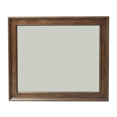 Liberty Furniture Rustic Traditions Cherry Landscape Dresser Mirror