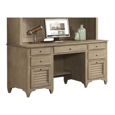 Myra Natural Credenza Desk