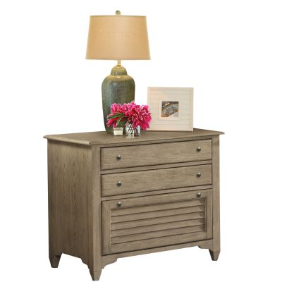 Myra Natural Lateral File Cabinet