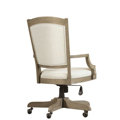 Myra Natural Upholstered Desk Chair