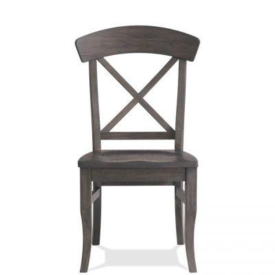 Riverside Harper  Matte Black X - Back Side Chair
