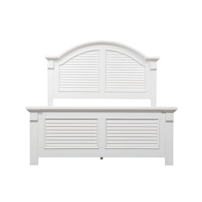 Liberty Furniture Summer House I White Queen Panel Bed