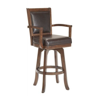 Ambassador Swivel Bar Height Stool Demarest