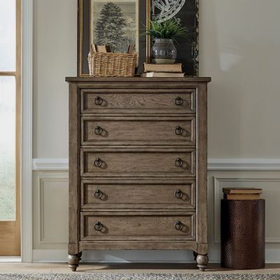 Liberty American Farmhouse Five Drawer Chest