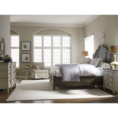Legacy Classic Brookhaven Rustic Dark Elm Bedroom Set
