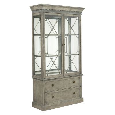 American Drew Savona  Maple& Elm Larsson Display Cabinet