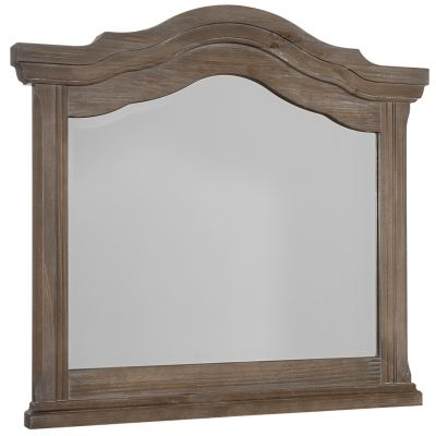 Vaughan Bassett Rustic Hills Landscape Dresser Mirror in Saddle Grey