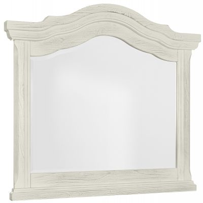 Vaughan Bassett Rustic Hills Landscape Dresser Mirror in Weathered White