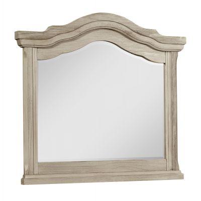 Vaughan Bassett Rustic Hills Landscape Dresser Mirror in Spiced Cream