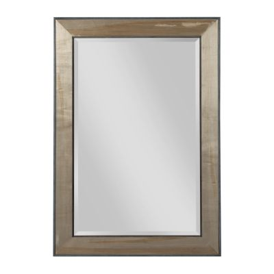 American Drew AD Modern Synergy Walnut Perspective Landscape Mirror