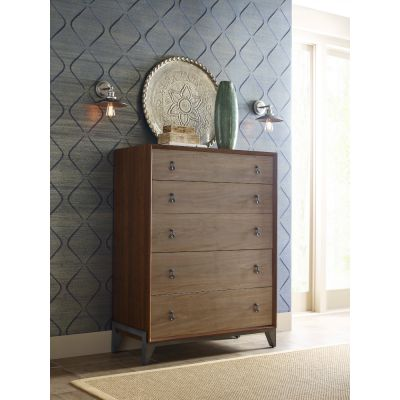 American Drew AD Modern Synergy Maple Motif Drawer Chest