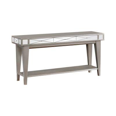 Rectangular Mirrored Sofa Table Mercury Ridgewood