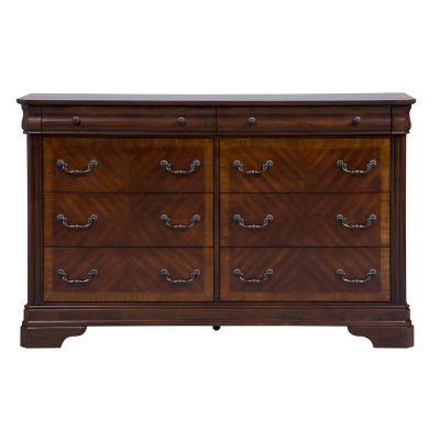 Liberty Alexandria Cherry Eight Drawer Dresser